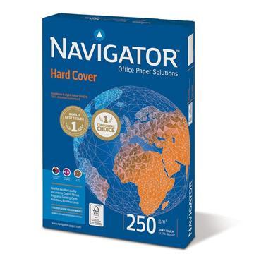 Εικόνα της Επαγγελματικό Χαρτί Εκτύπωσης Navigator (Hard Cover) A4 250gr 125 Φύλλα