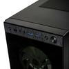 Εικόνα της Kolink Horizon RGB Tempered Glass Black GEKL-033