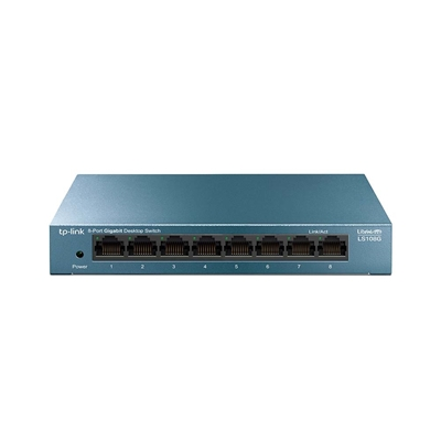 Εικόνα της Switch Tp-Link LS108G v1 8 Port 10/100/1000Mbps