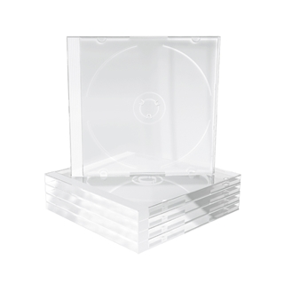 Εικόνα της MediaRange CD Jewelcase for 1 disc 10.4mm Transparent Τray BOX24
