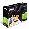 Εικόνα της MSI GeForce GT 710 2GD3H LP 2GB Silent - Low Profile V809-2000R