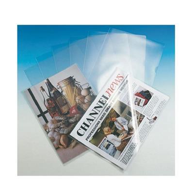 Εικόνα της Ζελατίνες Esselte L Διάφανες PP A4 Άνοιγμα Πάνω & Δεξιά 0.12mm 25 Τεμάχια 548300