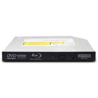 Εικόνα της Internal Ultra Slim Blu-Ray / DVD Writer LG 3D Blu-Ray Disc Playback & M-DISC™ Support Black BU40N