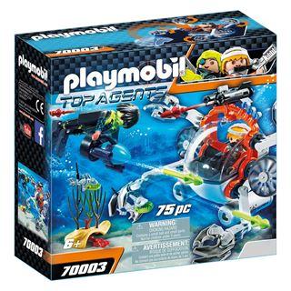 Εικόνα της Playmobil Top Agents - Υποβρύχιο Σκάφος της Spy Team 70003