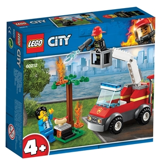 Εικόνα της Lego City: Barbecue Burn Out 60212