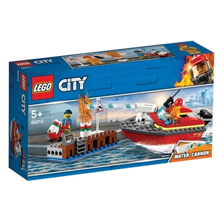 Εικόνα της Lego City: Dock Side Fire 60213