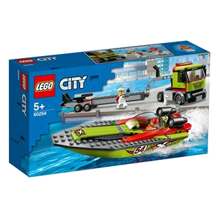 Εικόνα της Lego City: Race Boat Transporter 60254
