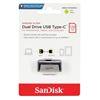Εικόνα της SanDisk Ultra Dual USB 3.1 Type C 128GB Silver SDDDC2-128G-G46