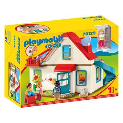 Εικόνα της Playmobil 1.2.3 - Επιπλωμένο Σπίτι 70129