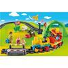 Εικόνα της Playmobil 1.2.3 - Σετ Τρένου με Ζωάκια και Επιβάτες 70179