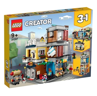 Εικόνα της Lego Creator: Townhouse Pet Shop & Cafe 31097