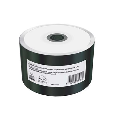 Εικόνα της Mini CD-R 200MB 22' Inkjet Fullsurface Printable 24x MediaRange Shrink 50 Τεμ MR257