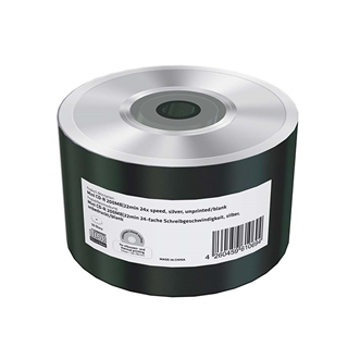 Εικόνα της Mini CD-R 200MB 22' Silver Unprinted 24x MediaRange Shrink 50 Τεμ MR258