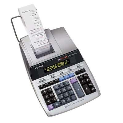 Εικόνα της Αριθμομηχανή 12 Ψηφίων Με Χαρτοταινία Canon MP1211-LTSC 2496B001AC