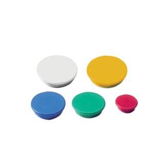 Εικόνα της Μαγνήτες Χρωματιστοί Διαμέτρου 24mm. Dahle 10 Τεμάχια 995524