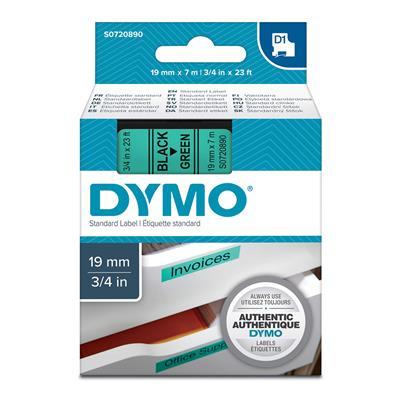 Εικόνα της Ετικέτες Dymo D1 Standard 19mm x 7m Black On Green 45809 S0720890