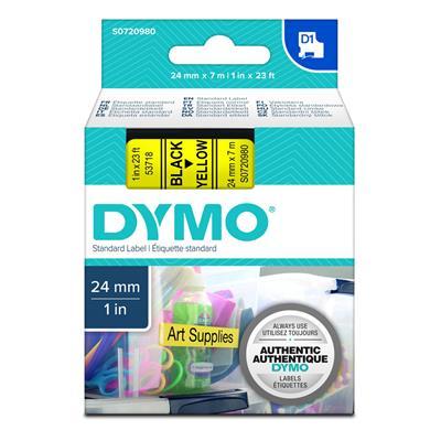Εικόνα της Ετικέτες Dymo D1 Standard 24mm x 7m Black On Red 53717 S0720970