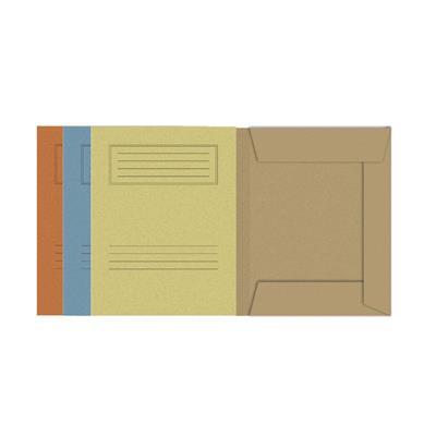 Εικόνα της Ντοσιέ με Πτερύγια 26.5x35cm Πορτοκαλί