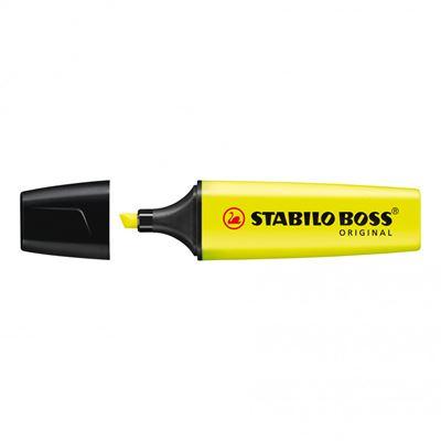 Εικόνα της Μαρκαδόρος Υπογράμμισης Stabilo Boss 70/24 2 - 5 mm Yellow