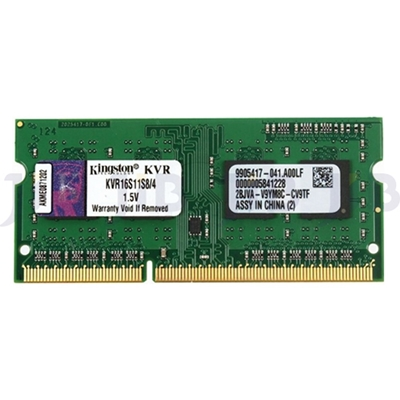 Εικόνα της Ram Kingston 4GB DDR3 1600MHz CL11 1.5V SODIMM KVR16S11S8/4