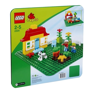 Εικόνα της Lego Duplo: Large Green Building Plate 2304