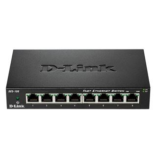 Εικόνα της Switch D-Link DES-108 8-Port 10/100 Mbps