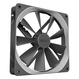 Εικόνα της Case Fan NZXT Aer F 140mm High-performance - 4 PIN - Anti-Vibration - Fluid Bearing RF-AF140-B1