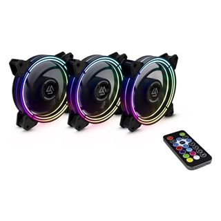 Εικόνα της Case Fan Alseye Halo 3.0 S-RGB 120mm (3-pack)
