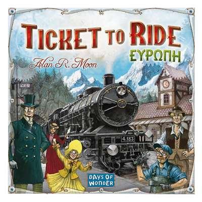 Εικόνα της Kaissa Επιτραπέζιο - Ticket Τo Ride: Ευρώπη KA617144