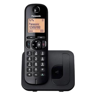 Εικόνα της Ασύρματο Τηλέφωνο Panasonic KX-TGC210 Black
