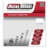 Εικόνα της Καλώδιο Aculine USB 2.0 AM/BM 1.8m Black USB-004