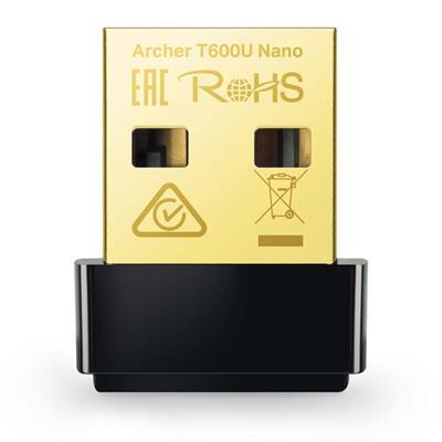 Εικόνα της WiFi USB Adapter Tp-Link Archer T600U Nano v1 AC600