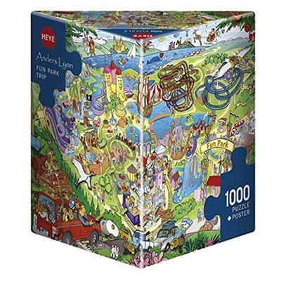 Εικόνα της Heye Puzzle - Fun Park Trip 1000pcs 29837