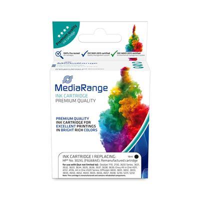 Εικόνα της Συμβατό Μελάνι Mediarange για Εκτυπωτές HP No 302XL Black F6U68AE MRHP302BKXL