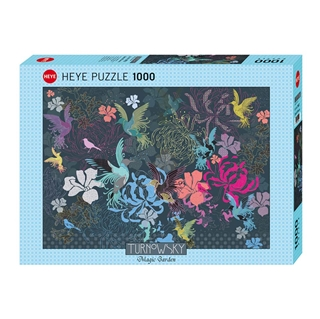 Εικόνα της Heye Puzzle - Magic Garden - Birds & Flowers 1000pcs 29822