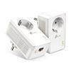 Εικόνα της Powerline Tp-Link TL-PA7017P Kit v4 AV1000 Passthrough Starter Kit