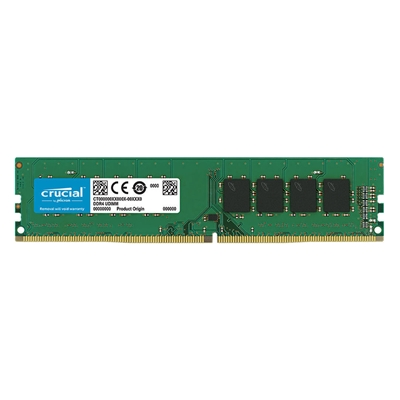 Εικόνα της Ram Crucial 4GB DDR4 2666MHz UDIMM CL19 CT4G4DFS8266