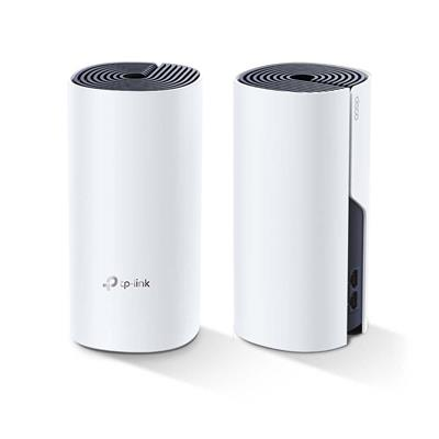 Εικόνα της Access Point Tp-Link Whole Home Hybrid Mesh Wi-Fi System Deco P9 v1 AC1200 + HomePlug AV1000 Dual-Band (2pack)