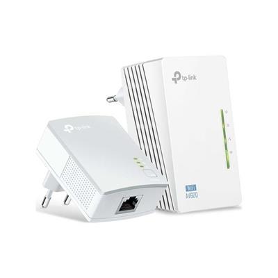 Εικόνα της Powerline Tp-Link WPA4220 v4 AV600 Wireless Starter Kit