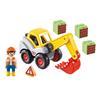 Εικόνα της Playmobil 1.2.3 - Φορτωτής Εκσκαφέας 70125