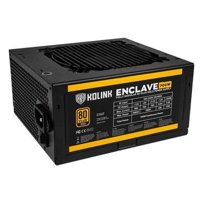 Εικόνα της Τροφοδοτικό Kolink Enclave Modular 80+ 700W Gold NEKL-028