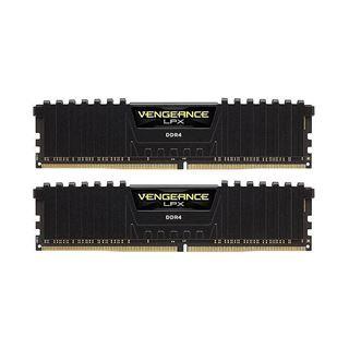 Εικόνα της Ram Corsair Vengeance LPX 16GB (2 x 8GB) DDR4 3200MHz DIMM C16 Black CMK16GX4M2B3200C16