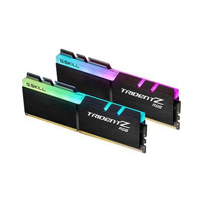 Εικόνα της Ram G.Skill Trident Z RGB 16GB (2x8GB) DDR4 3200MHz C16 F4-3200C16D-16GTZR