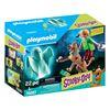 Εικόνα της Playmobil Scooby Doo - Ο Σκούμπι και ο Σάγκι με ένα φάντασμα 70287