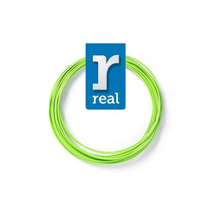 Εικόνα της Real PLA 3D Pen Filament 1.75mm 10m Light Green 3DPFPLANGREEN10MM175