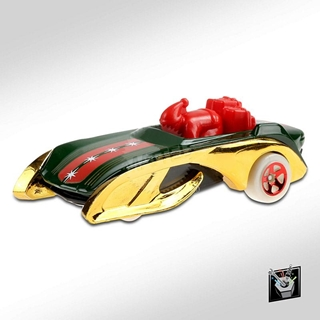 Εικόνα της Mattel Hot Wheels - Experimotors - Rocking Santa Sled 5785-GHD88