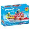 Εικόνα της Playmobil City Action - Πυροσβεστικό Σκάφος Διάσωσης 70147