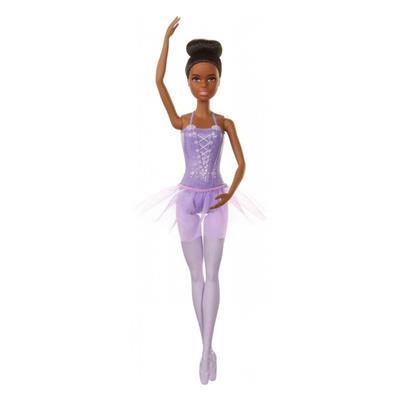 Εικόνα της Barbie Πριγκίπισσες - Μπαλαρίνα Άφρο Μαλλιά GJL58-GJL61