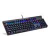 Εικόνα της Gaming Πληκτρολόγιο Motospeed CK103 Mechanical RGB Side Laser - Blue Switches - Black EN