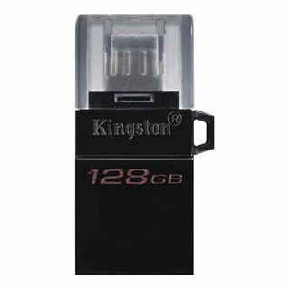 Εικόνα της Kingston DataTraveler microDuo3 G2 128GB microUSB and USB Type-A for Android OTG DTDUO3G2/128GB